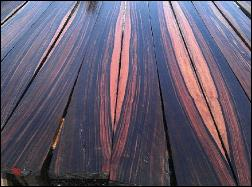 macassar ebony matched boards